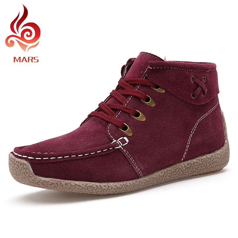 Casual Shoes Woman Boots Fashion Woman Winter Boots Suede