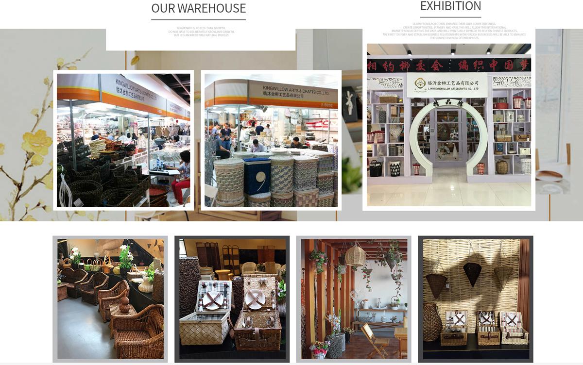 Linyi Kingwillow Arts Crafts Co Ltd Storage Basket Wicker