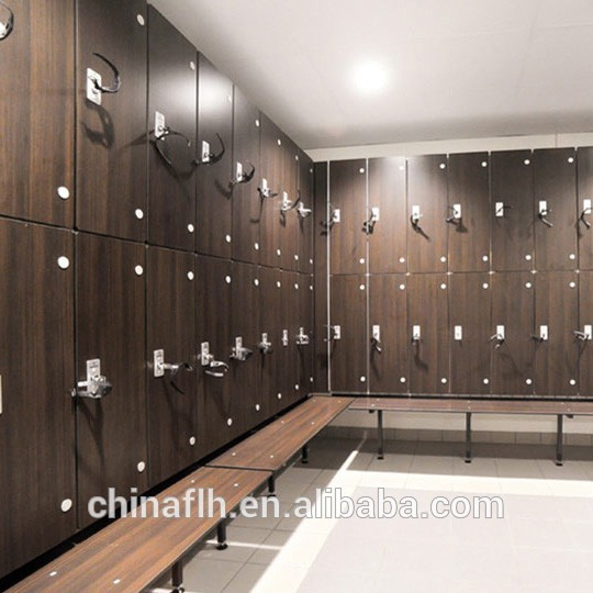 Swimming pool lockers gym sports locker rooms laminate