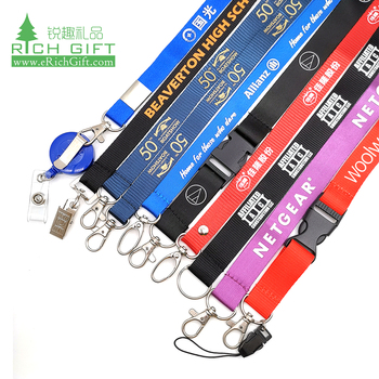Luggage belt/Custom Fashion Printed/Neck/Polyester/Woven/Cheap Custom lanyard
