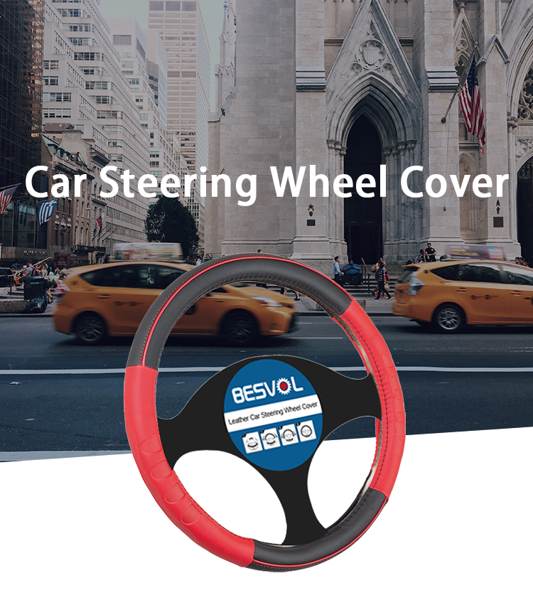 FX-P-180907 Where can you buy auto PVC  car steering wheel covers