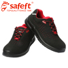 Oil resistant sport safety shoes steel toe cap