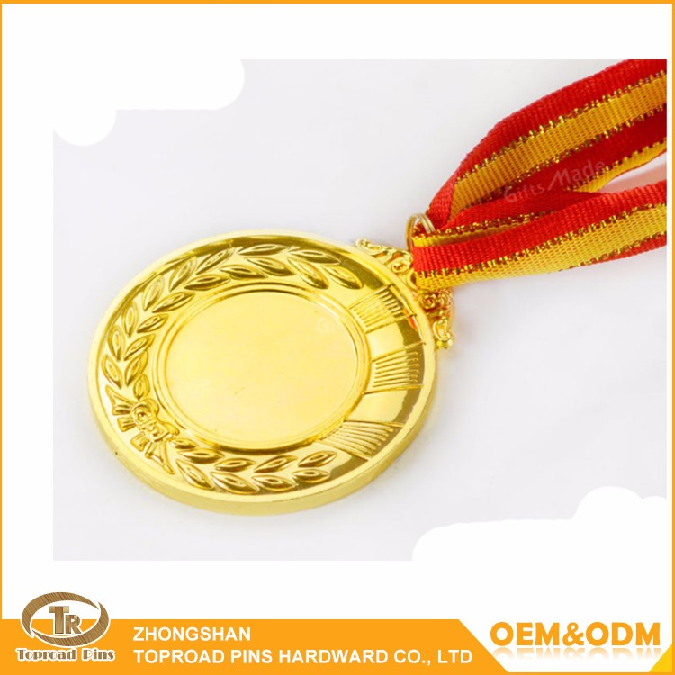 High Quality Zinc Alloy Sport Medal Craft Custom Gold Plated Sport ...
