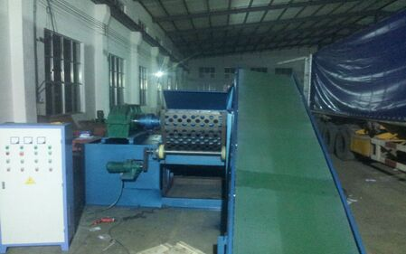 rubber crumb machine/rubber granulator / Used Tire Continuous Recycling Machine