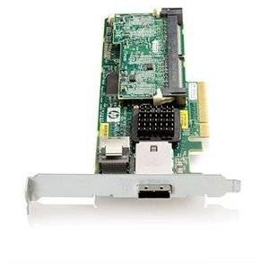 "Hp Smart Array P212 8. Port Sas Raid Controller . 256Mb Ecc . Pci Express . 300Mbps . 1 X Sff. 8088 . Serial Attached Scsi External, 1 X Sff. 8087 . Serial Attached Scsi Internal ""Product Type: I/O & Storage Controllers/Scsi/Raid Controllers"""