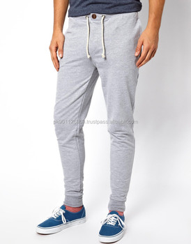 a9e17a115 Skinny Sweatpants Slim Fit Trouser Men Custom Gym Tapered Jogger ...