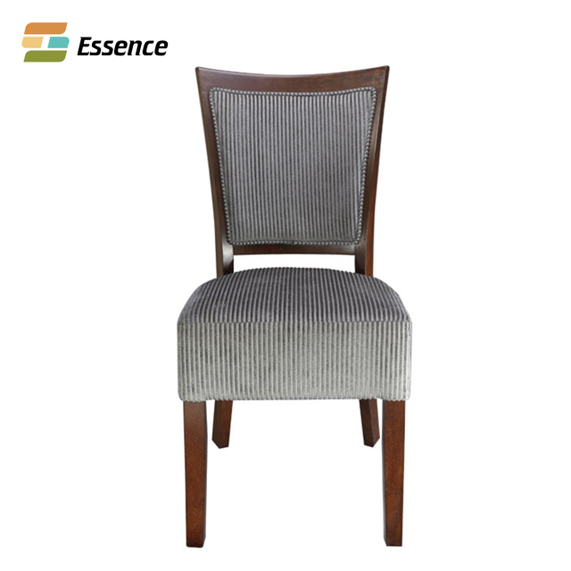 Hot Sell Wood Frame Dining Leather Upholstery Chair