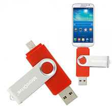 wholesale otg laser Pen USB Flash Memory Stick swivel Drive U disk Thumbdrive for PC & phone
