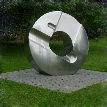 Large Decorative Metal Sculpture Stainless Steel Garden Sculpture