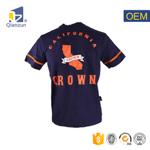 high quality custom t-shirt with printing your logo made in China