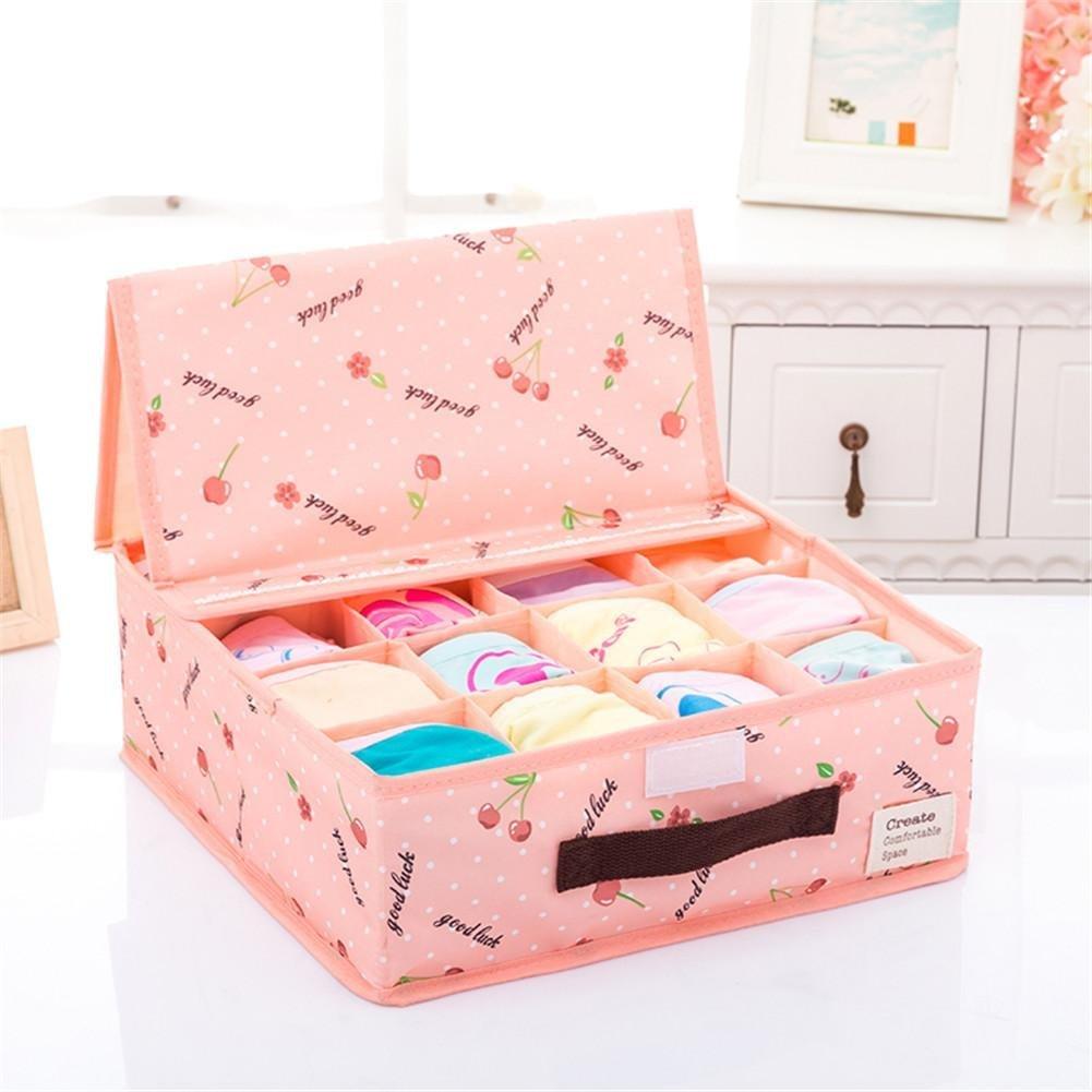 Folding Underwear Storage Box, Gavin Chest finishing Box, Underwear Tissue Folding Box, Bra, UnderWear, Socks, Oxford Cloth Storage Box , A