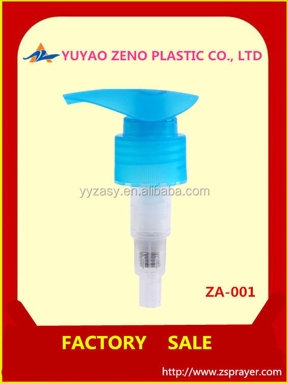 lotion pump with aluminum form yuyao factory ,China