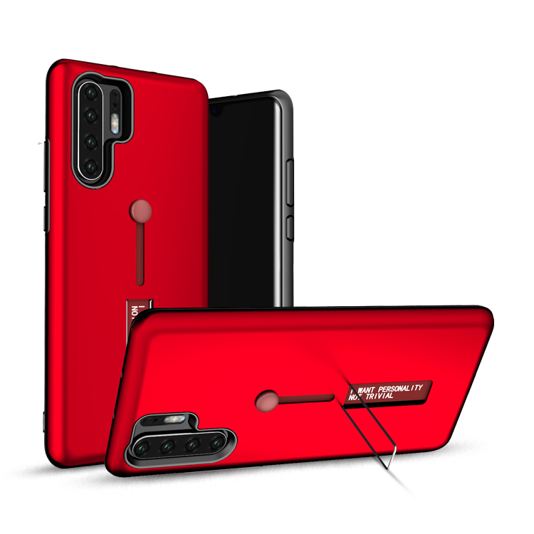 Shock Proof TPU PC Cell Phone Cover For Huawei P30 Pro Case,Mobile Phone Kickstand Case P30 Pro