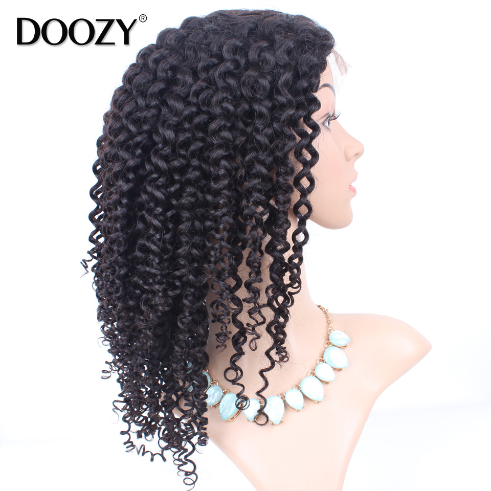 wholesale cheap curly full lace human hair wig