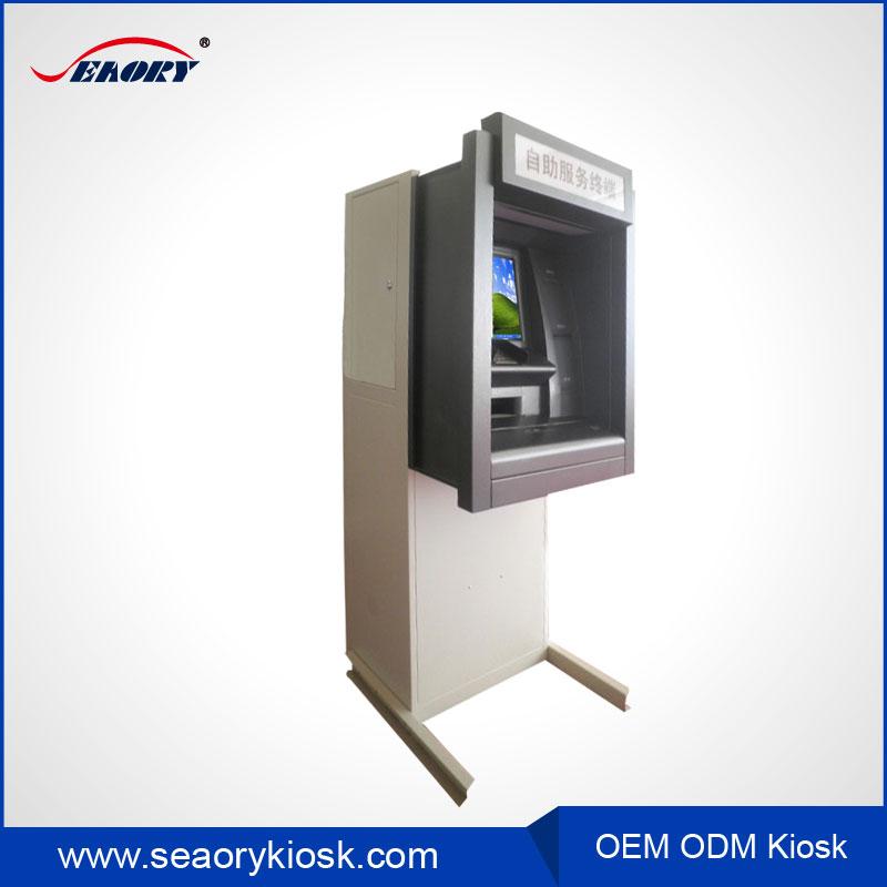Oem Atm Computer Monitor Cabinet Receipt Printer Kiosk