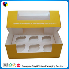 2014 Cheap printing white filigree personalized laser cut favor cupcake box for wedding/party/dating