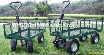 Captivating Garden Tool Cart With Four Wheels