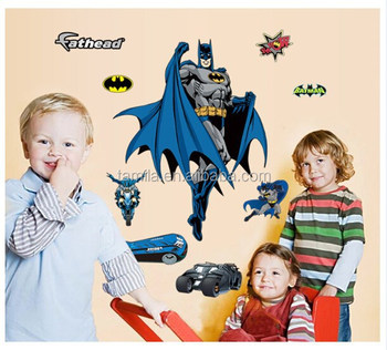 Removable Kids Room Decorative Cartoon Batman Sticker