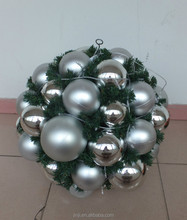 Hot selling product plastic christmas ornament ball garlands