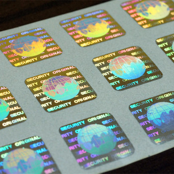 Hot sale custom 3d hologram stickers with 2d barcode