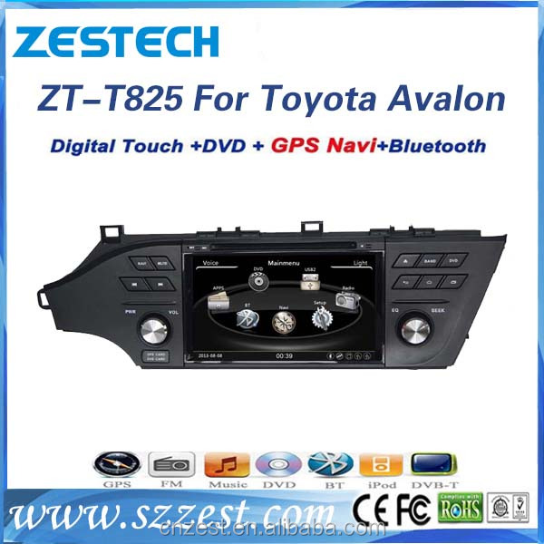 double din car stereo for Toyota Avalon 2013 2014 2015 with sat navi gps car dvd player