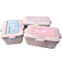 2019 New Arrival Kids Lunch Box Stainless Steel BPA Free Kids Lunch Box School Lunch Food Box Leakproof