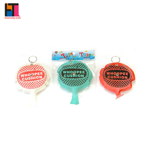 10117997 promotional custom whoopee cushion with keyring