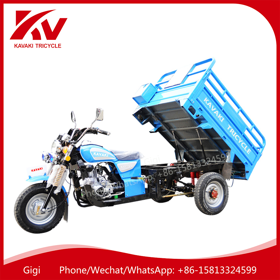 2017 China Guangzhou new cheap adult 3/three wheel 150cc/200cc air-cooled engine cargo delivery motorcycles for sale