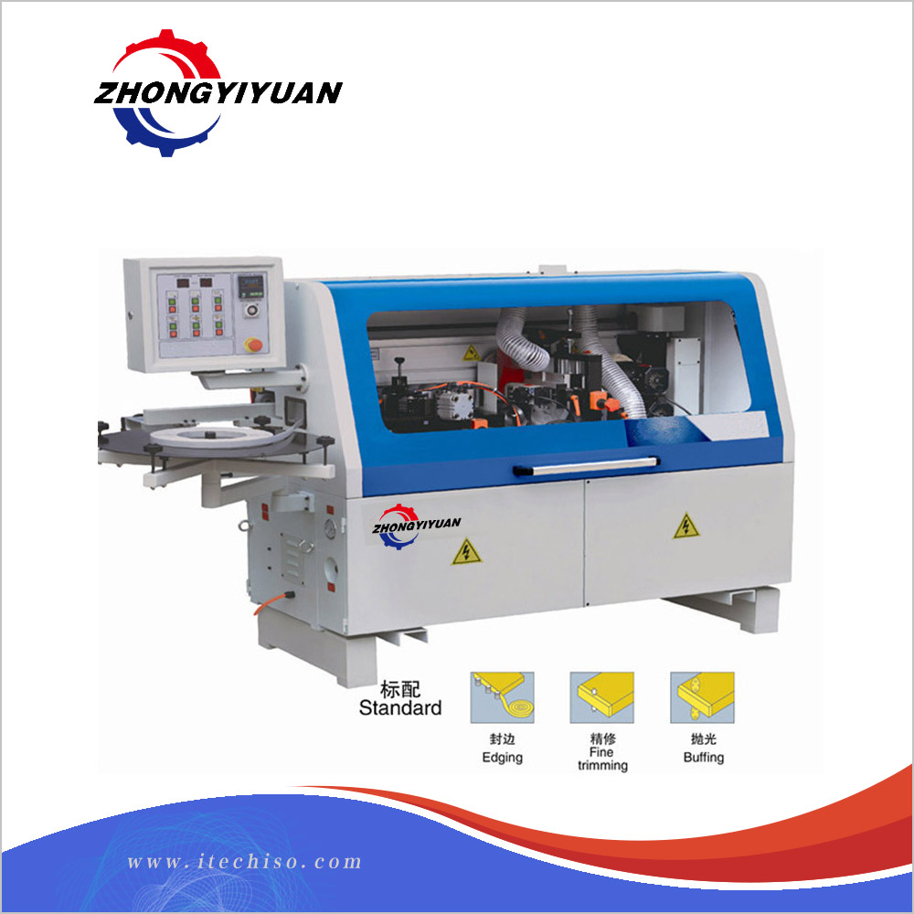 MFB503 semi-automatic curve abs mdf cabinet door abs edge banding machine