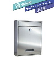 New Design Waterproof wall Mounted Galvanized Steel mailbox