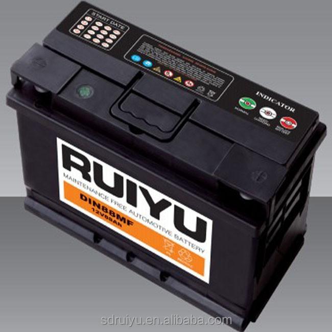 automobiles batteries de voiture d 39 occasion en ruiyu et oem 40ah 60ah 80ah 90ah 100ah 120ah. Black Bedroom Furniture Sets. Home Design Ideas