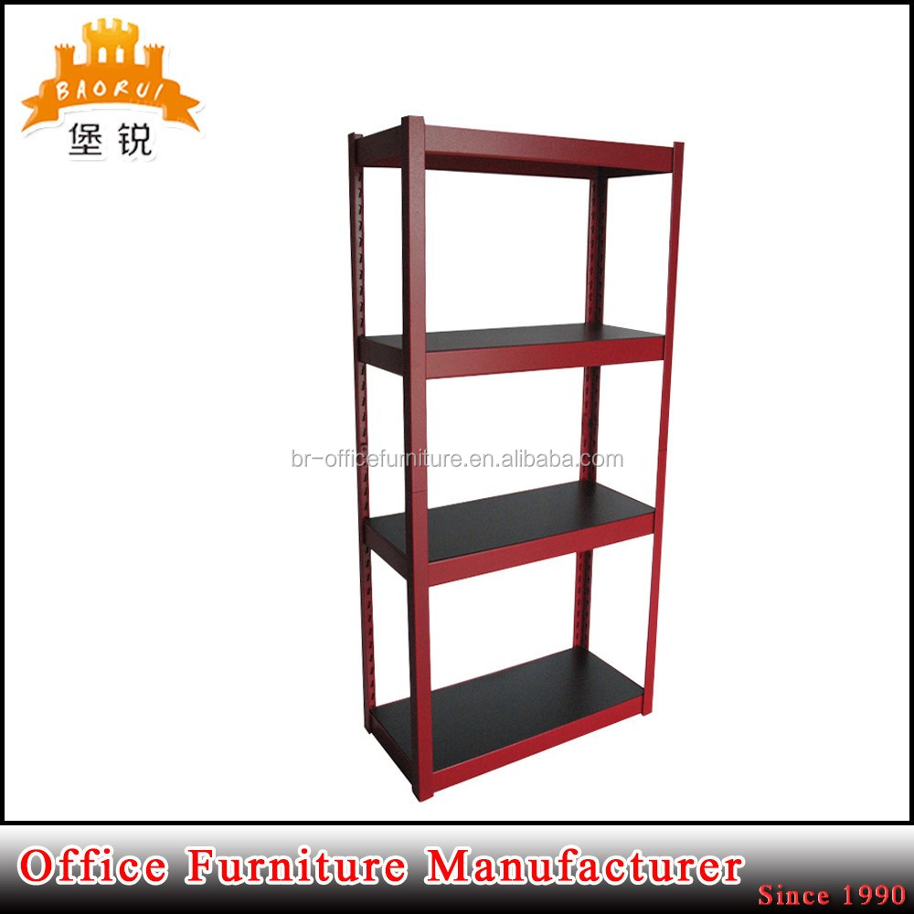 BAS-060 heavy durable adjustable steel shelving storage rack shelves used for supermarket