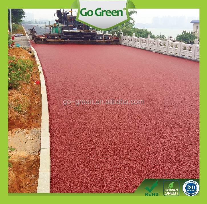 Go Green Colored Porous Asphalt Pavement