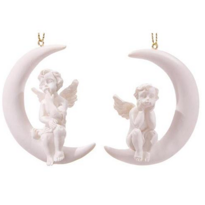 Factory Custom made beste woondecoratie gift polyresin hars opknoping angels