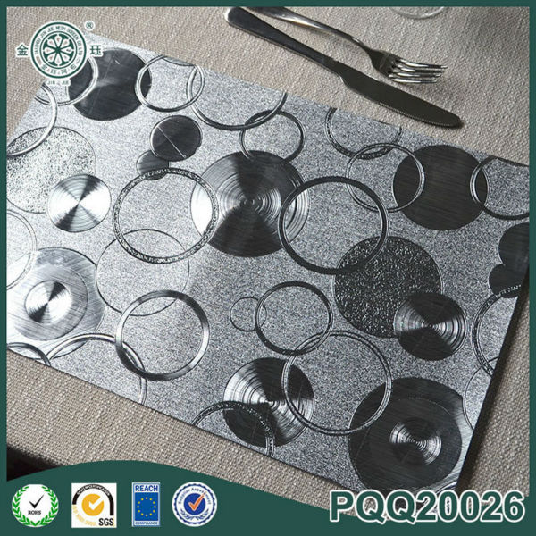 Kitchen Kids Placemat Hotel Dinner Silver Restaurant Table Mat Outdoor Coffee  Table Placemat