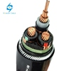 15kv 33kV Medium Voltage Steel Wire Armored 3 Phase Copper Wire Screen XLPE Power Cable