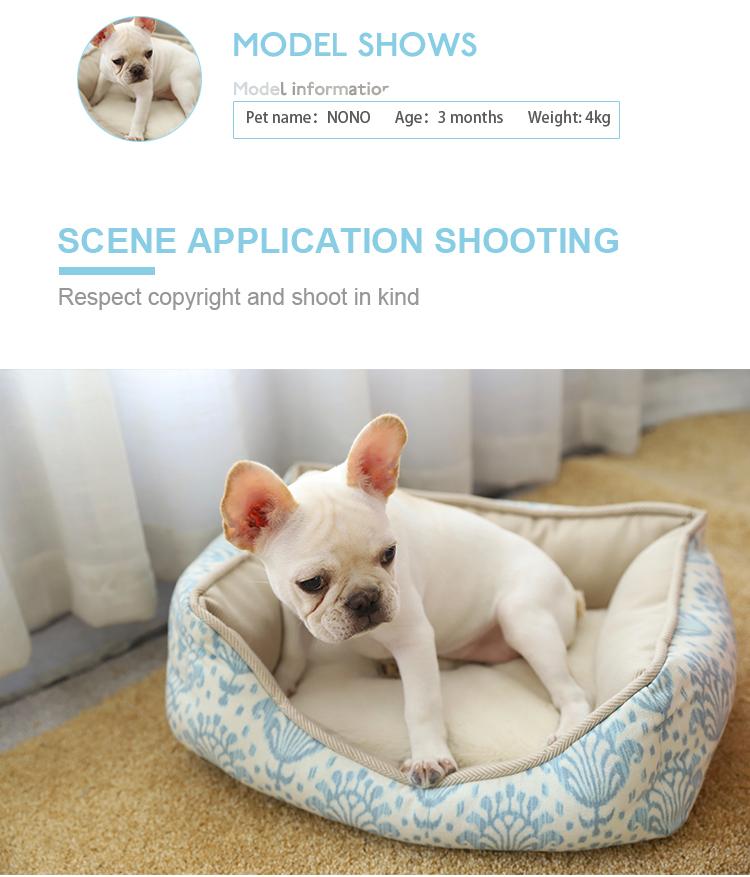 Gezellige Hond Bed Kleine, Goedkope Leuke Hond Reizen Bed Kleine Hond Bed Huis