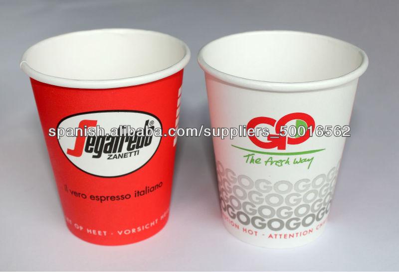 8oz vasos de papel embalaje para cuencos bol for Vasos de te