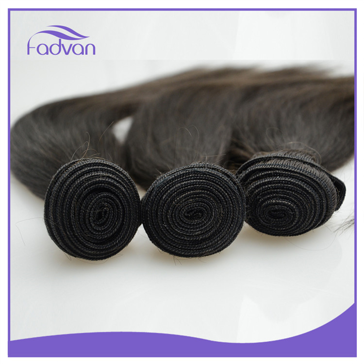 Factory cheap price super 7a grade 100% raw human hair malaysian silky straight hair bundles
