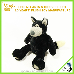 Custom wolf plush toys kid toys