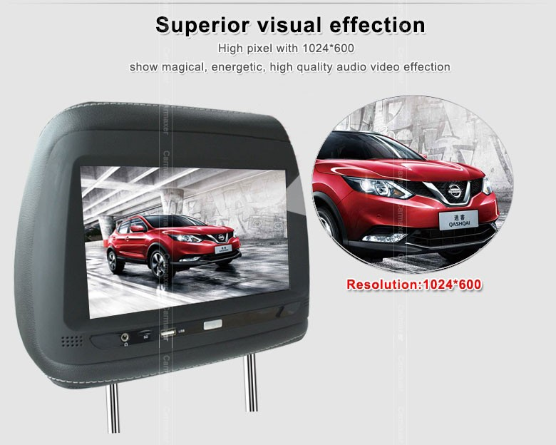 "New style 9"" android full hd 1080p car lcd tft monitor with 3G sim card/USB/TF"