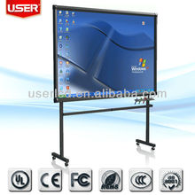 Biggest Multi touch monitor/USB touch screen monitor/ touch LCD monitor with TV