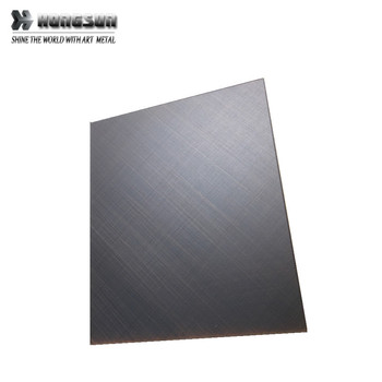Nice quality constructive stainless steel sheets for Kitchen sink brushed ss plates for kitchenware