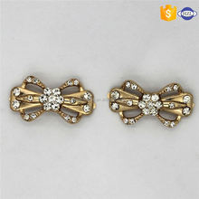 Hot sale different types zinc alloy small pin shoe buckle