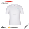 Compressive 100% polyester dri fit running shirt