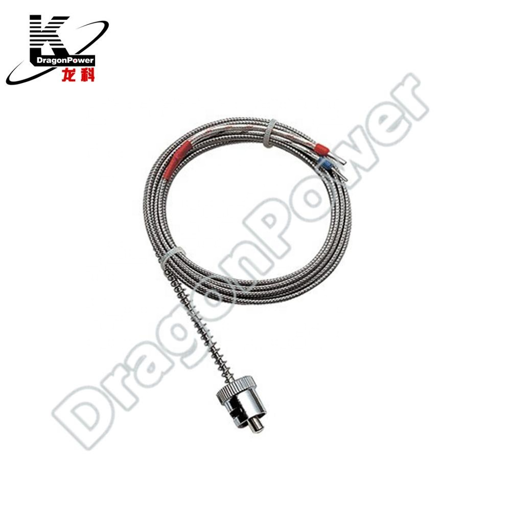 Best Price High <strong>Temperature</strong> -100 To 1250 Degree Thermocouple K Type 100mm Stainless Steel Probe Sensors