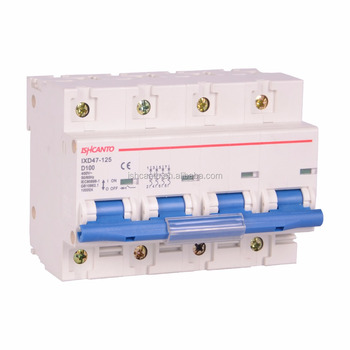 125 Amp High Quality 3 Phase 4 Pole Mcb With Two Years Warranty ...