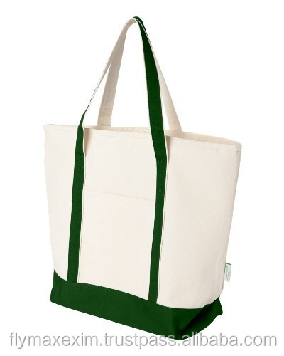 100% ecofriendly canvas beach bags/ cotton boat bags/ boat tote bags wholesale