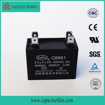 wiring diagram capacitor film cbb61 capacitor 450vac 2 5uf with high rh alibaba com