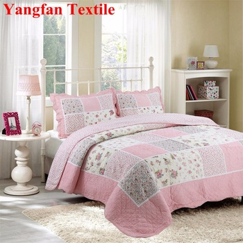 Patchwork Quilt Bedding Sets.Cute Pink Luxury Elegant Lace 100 Cotton Quilted Water Washing Patchwork Comfort Quilt Bedding Set Buy Comfort Cotton World Bedding Set Cute Pink